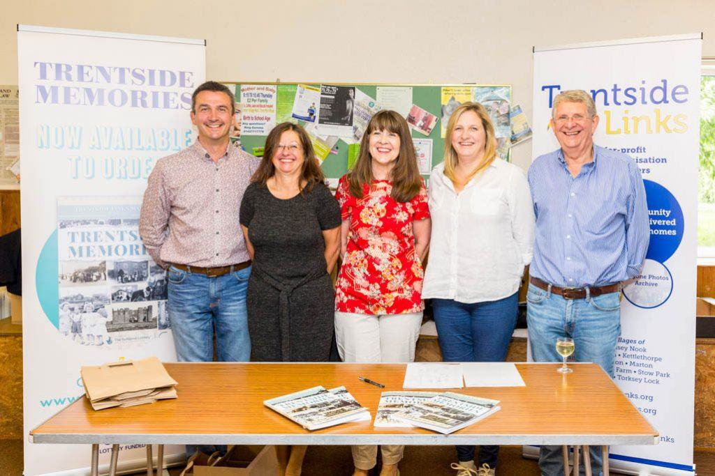 Trentside Memories Authors at Book Signing
