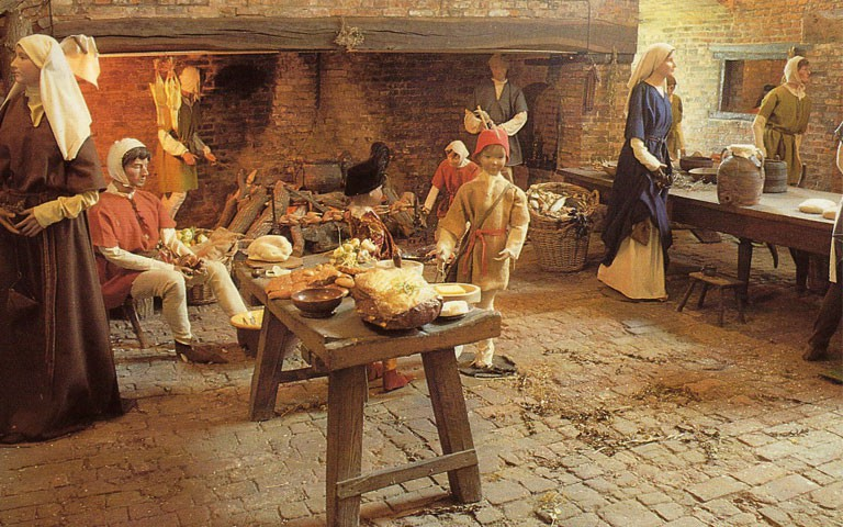 The Kitchen at Gainsborough Old Hall