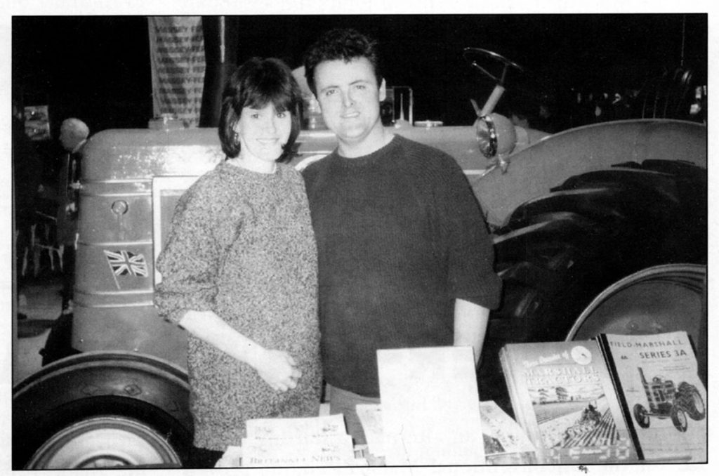 Catherine and Peter in 1999