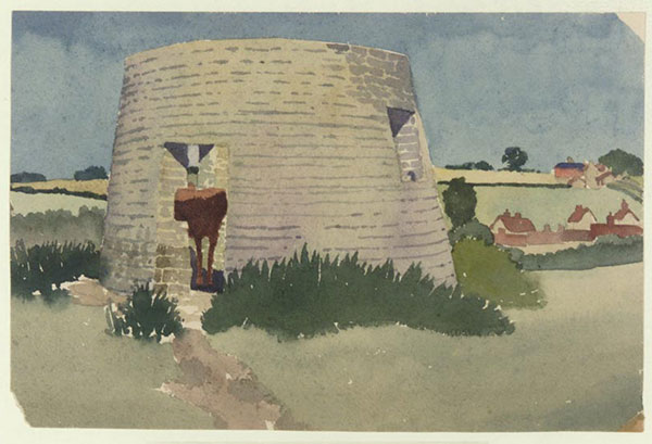 Windmill Base, Colsterworth, Lincolnshire 1932