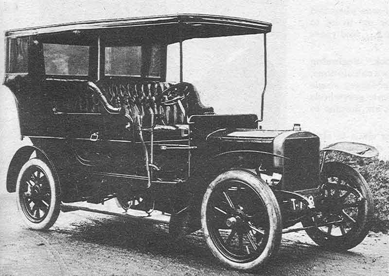 1905 Rose National Motor Car