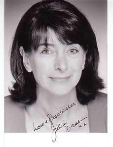 Julia Deakin Signed Photo
